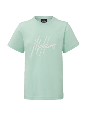 Malelions Junior Junior T-shirt Signature Mint Green