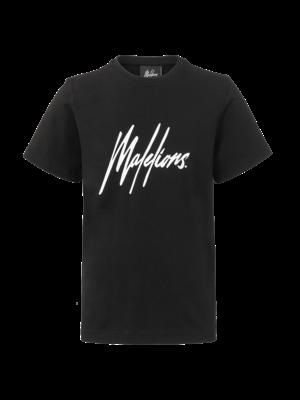 Malelions Junior Junior T-shirt Signature Black