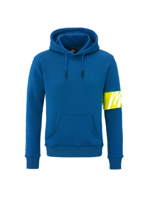 Malelions Captain Hoodie - Cobalt Blue/Yellow