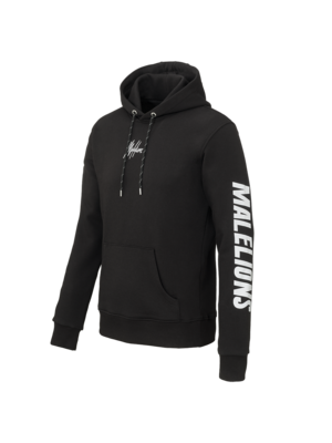 Malelions Hoodie Signature Reflective - Black