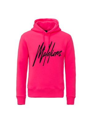Malelions Hoodie Signature - Neon Pink