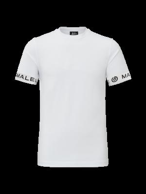 Malelions T-Shirt One Tape - White/Black | PRE-ORDER