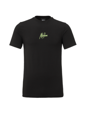Malelions T-shirt Double Signature - Black | PRE-ORDER