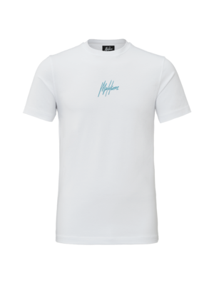 Malelions T-shirt Double Signature - White | PRE-ORDER