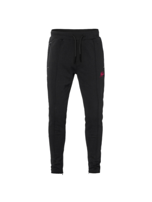 Malelions Trackpants Clarence - Black/Neon Pink