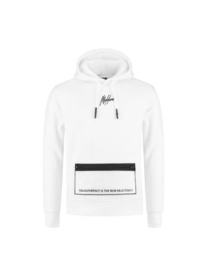 Malelions Hoodie Transparant - White