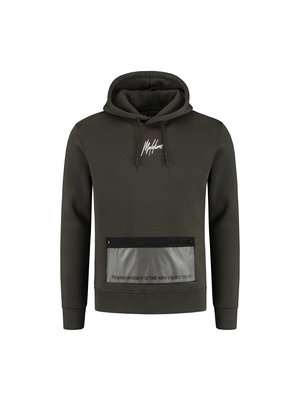 Malelions Hoodie Transparant - Army