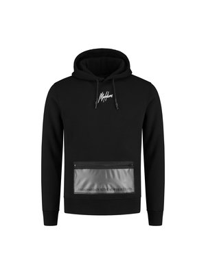 Malelions Hoodie Transparant - Black