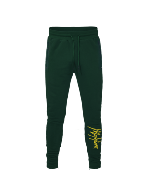 Malelions Signature Trackpants - Army/Yellow