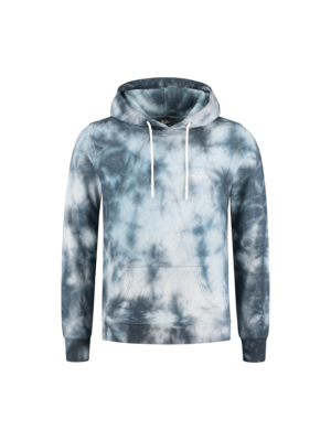 Malelions Hoodie Signature - Light Blue Tie/Dye