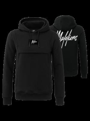 Malelions Hoodie Anorak - Black