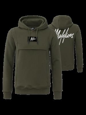 Malelions Hoodie Anorak - Green