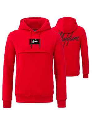 Malelions Hoodie Anorak - Red