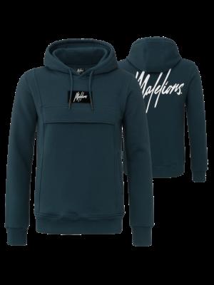 Malelions Hoodie Anorak - Navy