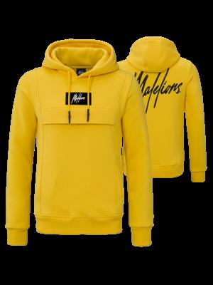Malelions Hoodie Anorak - Yellow