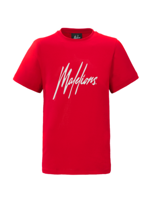 Malelions Junior Junior T-shirt Signature - Red