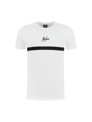 Malelions T-shirt Tonny 2.0  - White/Black