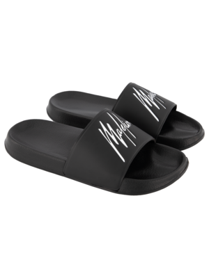 Malelions Slides - Black/White