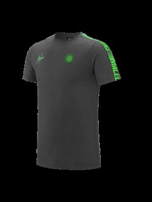 Malelions Sport T-Shirt Home kit Sport - Light Antra/green