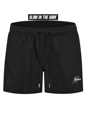 Malelions Swimshort Francisco - Black Glow In The Dark