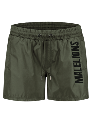 Malelions Swimshort Nium - Army