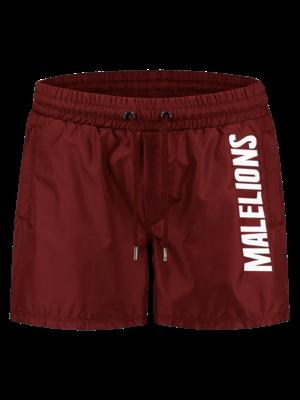 Malelions Swimshort Nium - Bordeaux