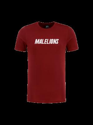 Malelions T-shirt Nium - Bordeaux