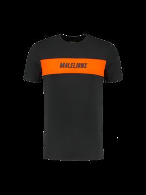 Malelions Sport T-shirt Uraenium Sport - Antra/Orange