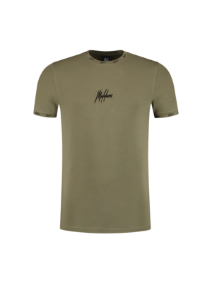 Malelions T-shirt Georginio 2.0 - Army/Black