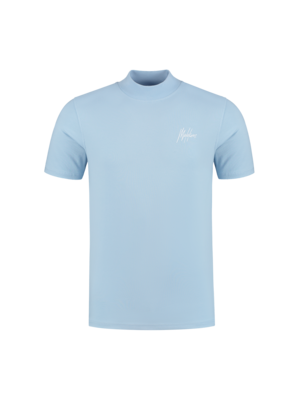 Malelions Turtle Neck Signature - Light Blue