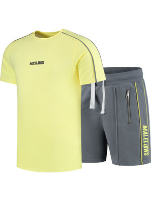 Malelions Twinset Thies - Yellow/Matt Grey | PRE-ORDER
