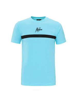 Malelions T-shirt Tonny 2.0  - Light Blue