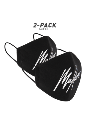 Malelions Face Mask - Black (2-Pack)
