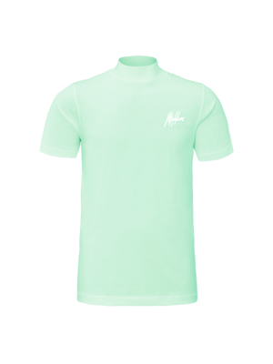 Malelions Turtle Neck Signature - Mint/White