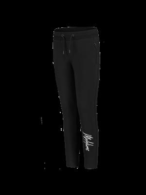 Malelions Junior Junior Trackpants Signature - Black/White