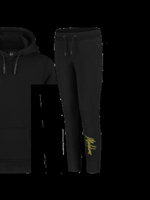 Malelions Junior Junior Trackpants Signature - Black/Yellow