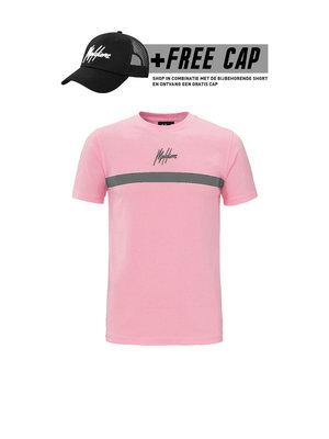 Malelions T-shirt Tonny 2.0  - Pink (+FREE CAP*)