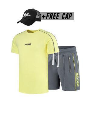 Malelions Twinset Thies - Yellow/Matt Grey (+FREE CAP)