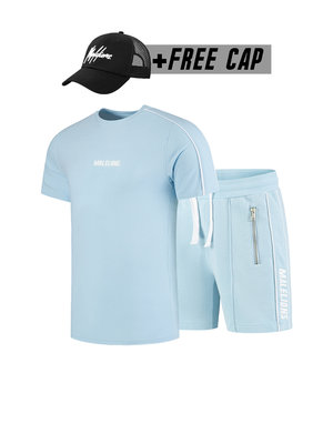 Malelions Twinset Thies - Light Blue (+FREE CAP)