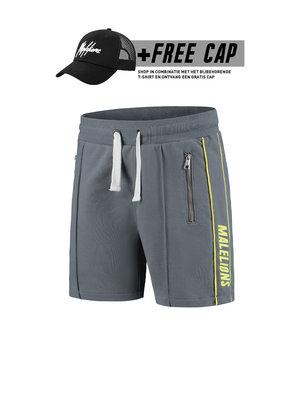 Malelions Thies Short - Yellow/Matt Grey (+FREE CAP*)