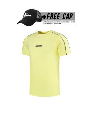Malelions Thies T-shirt - Yellow/Matt Grey (+FREE CAP*)