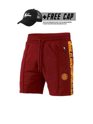 Malelions Sport Short Home kit Sport - Bordeaux/Orange (+FREE CAP*)
