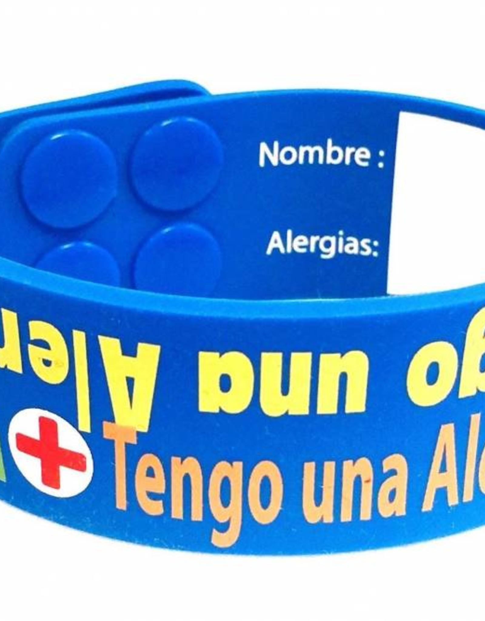 J'ai bracelet allergie anglais - espagnol
