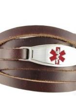 Armband Bruin Wrap