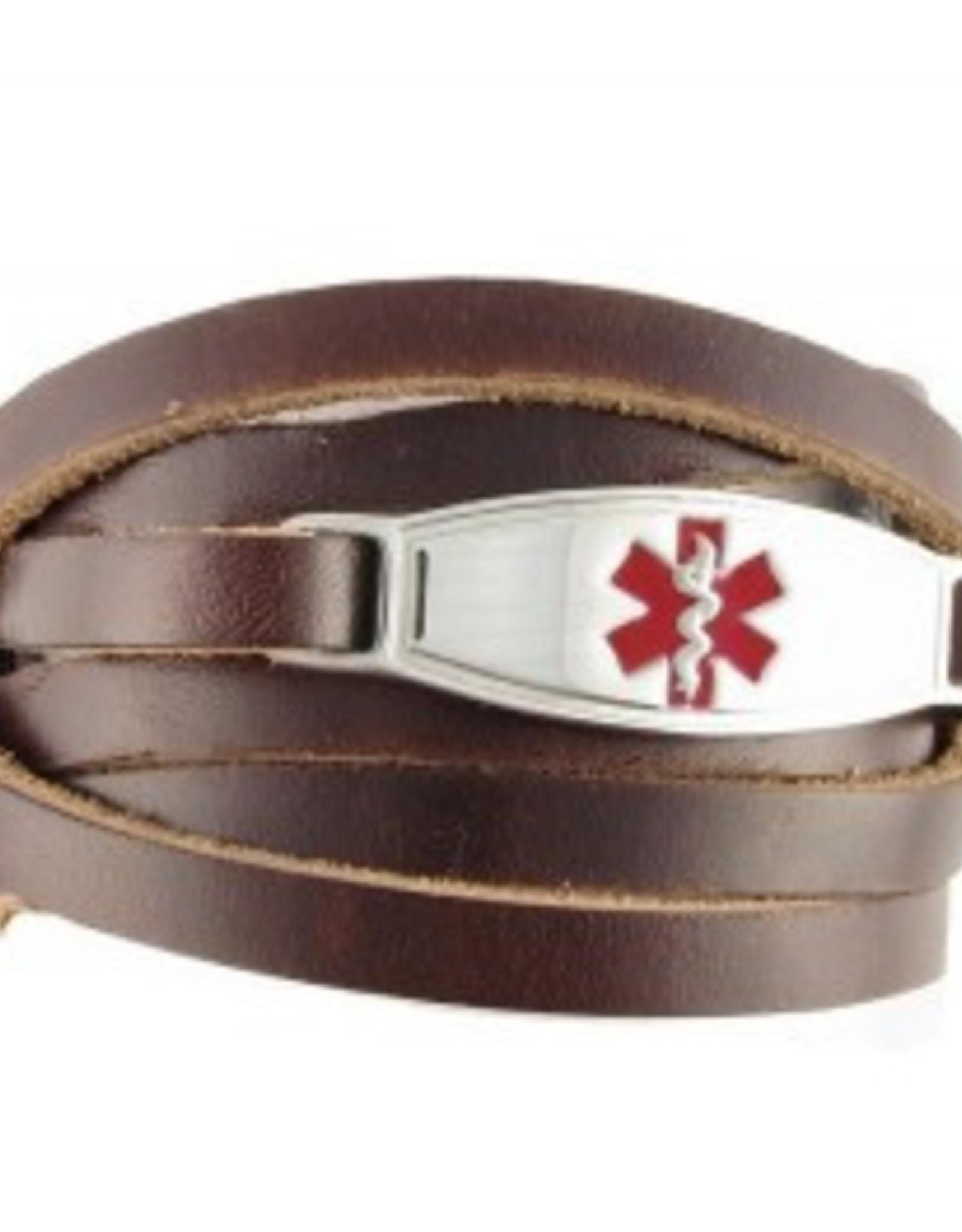 Bracelet Wrap Brune