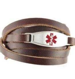 Bracelet Brown Wrap