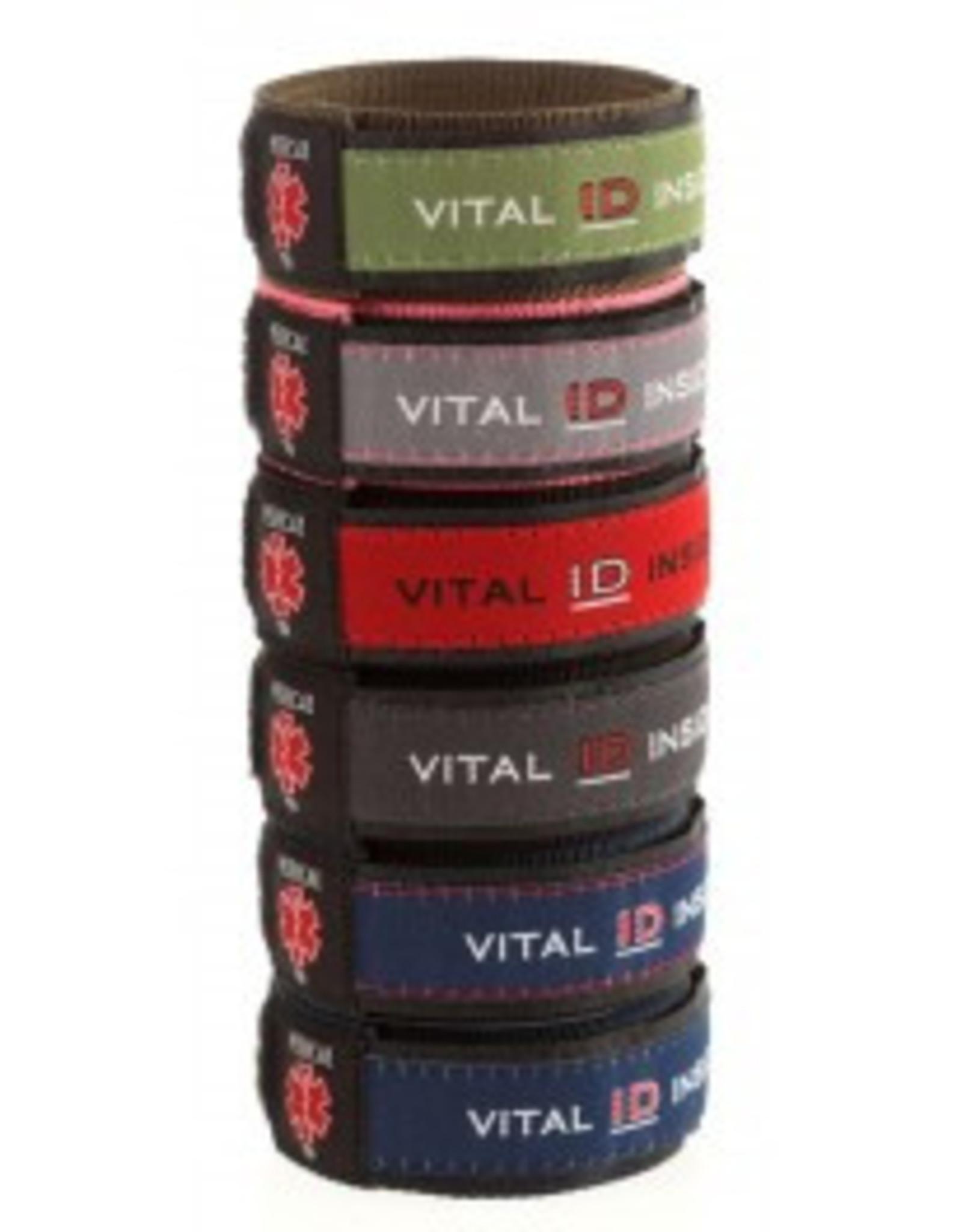 Medical ID Velcro Armband large