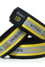 Bracelet Velcro ID Sport Fluo