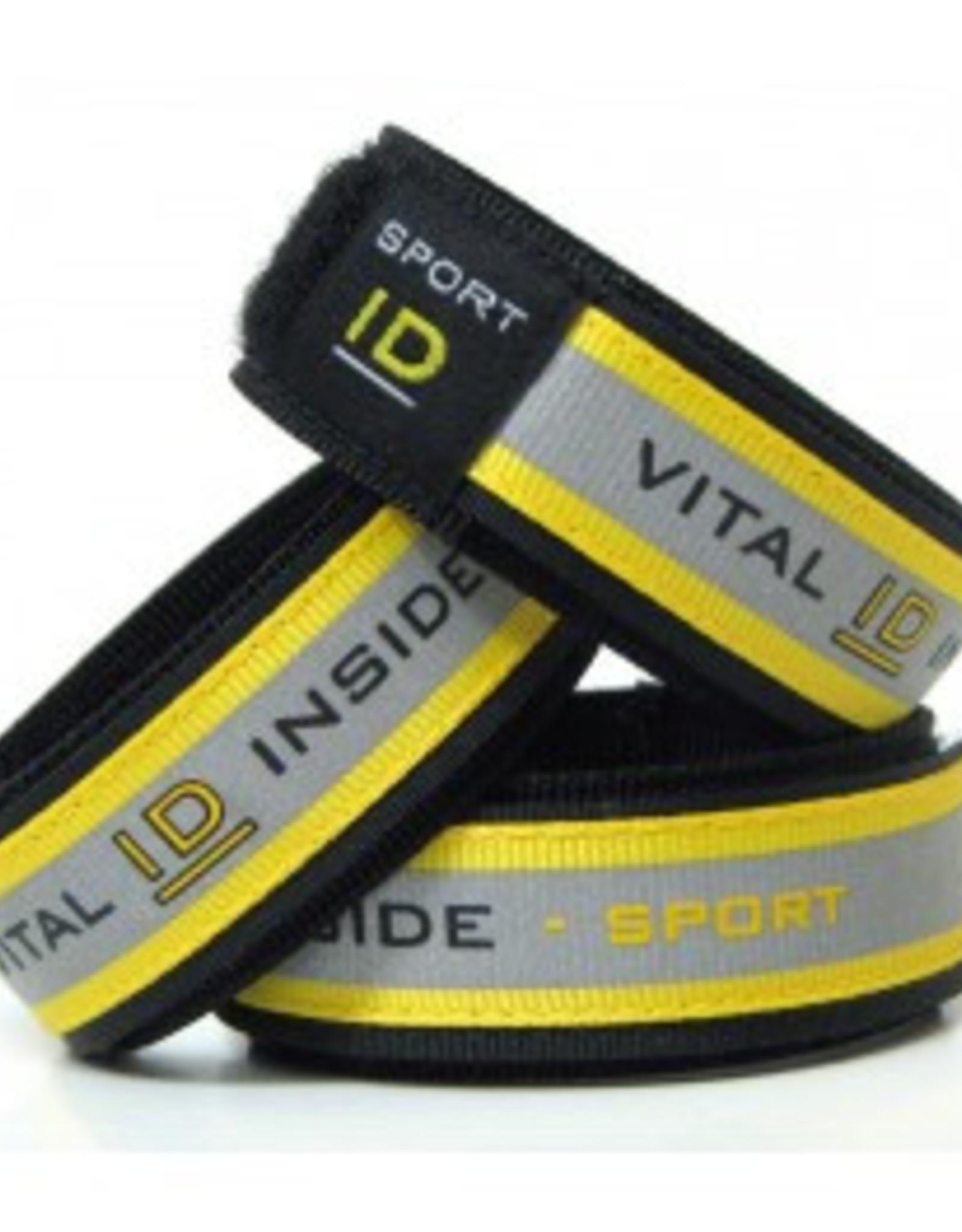Fluo Sport ID Velcro Bracelet