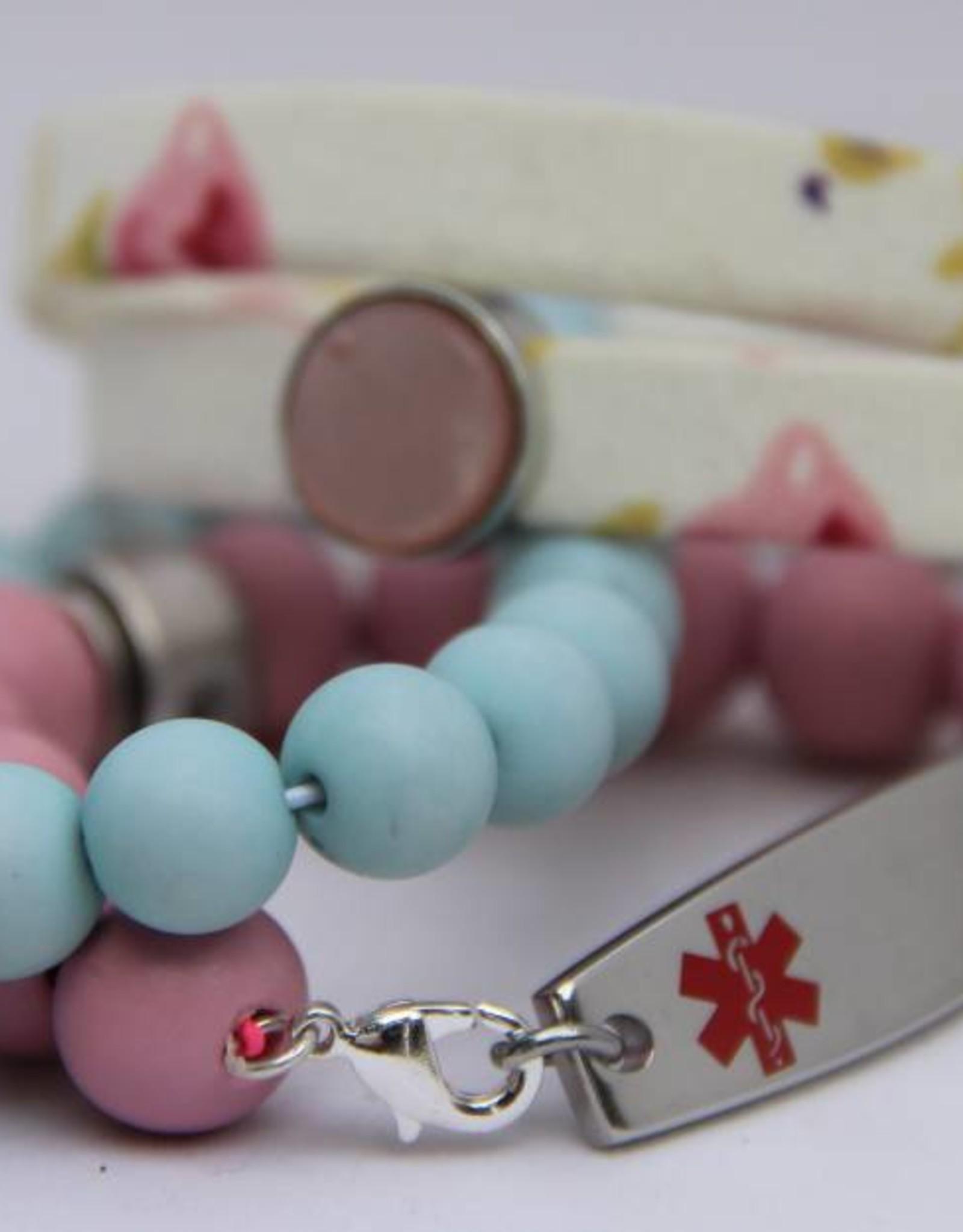 Eigen atelier Bracelet Wrap white flower